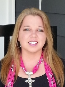 Suzannah Daniels-rectangular pink scarf