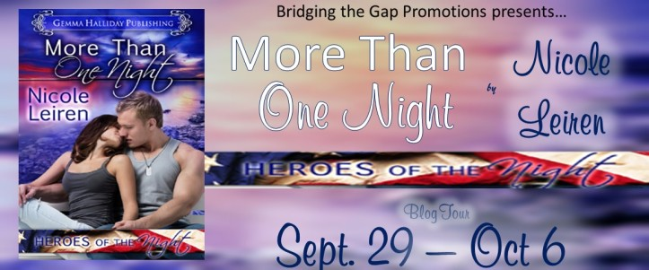 More Than One Night tour banner