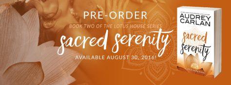 sacred serenity pre-order banner