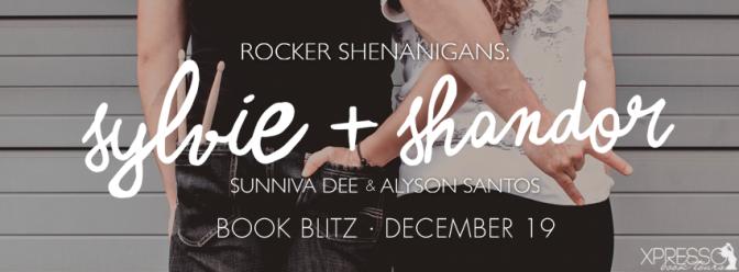 Review & #giveaway – Rocker Shenanigans: Sylvie + Shandor by Sunniva Dee & Alyson Santos @sunnivad @xpressotours
