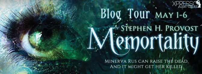 Review & #giveaway – Memortality by Stephen H. Provost @sproauthor @xpressotours